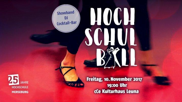 1. Hochschulball - 25 Jahre@HoMe - Anmoderation und Langsamer Walzer