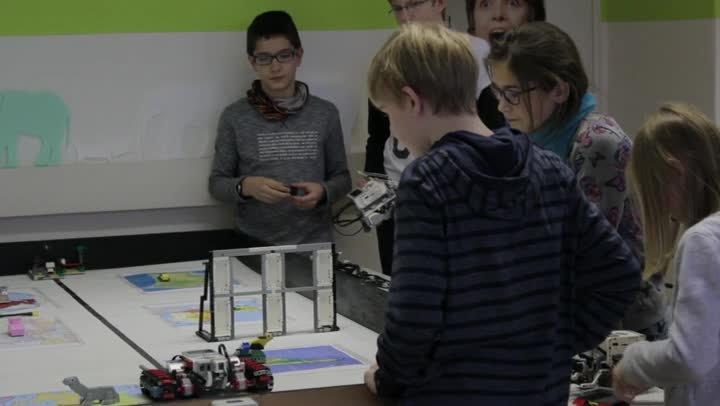 Winterferienakademie Lego-Robotics