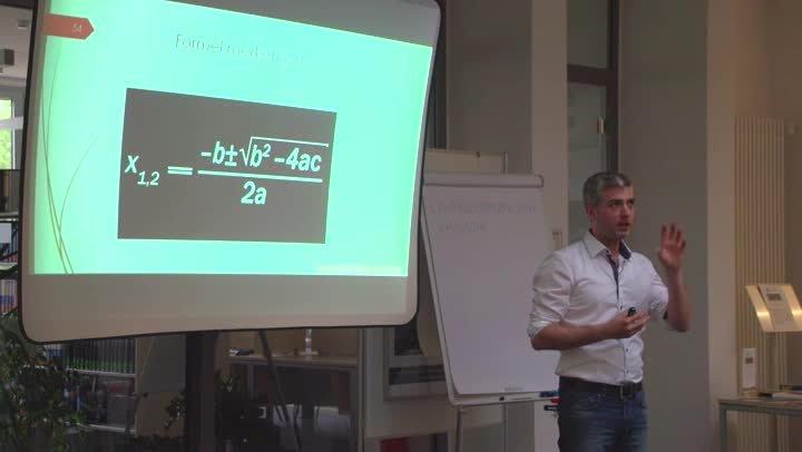 Wichtige Lerntechniken für Studierende mit Daniel Jaworski - Teil 7/9 - Formel merken