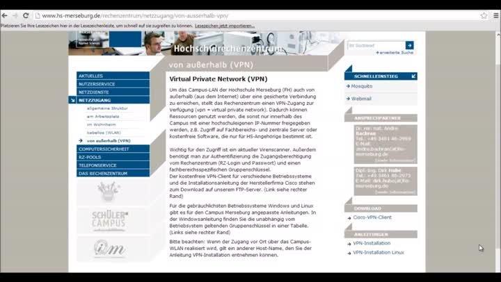 Tutorial roXtra - Einrichten eines VPN-Zugangs