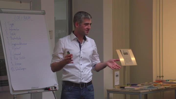 Wichtige Lerntechniken für Studierende mit Daniel Jaworski - Teil 4/9 - Die LOCI-Technik
