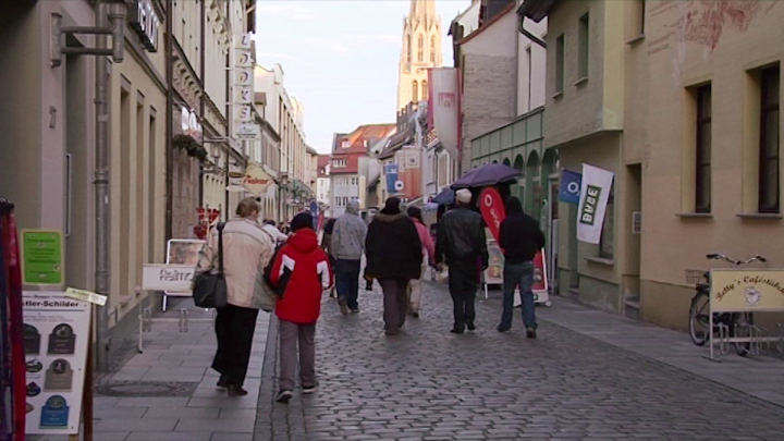 Gotthardstrasse: First Impressions - Merseburg Through the Eyes of our First Year Students
